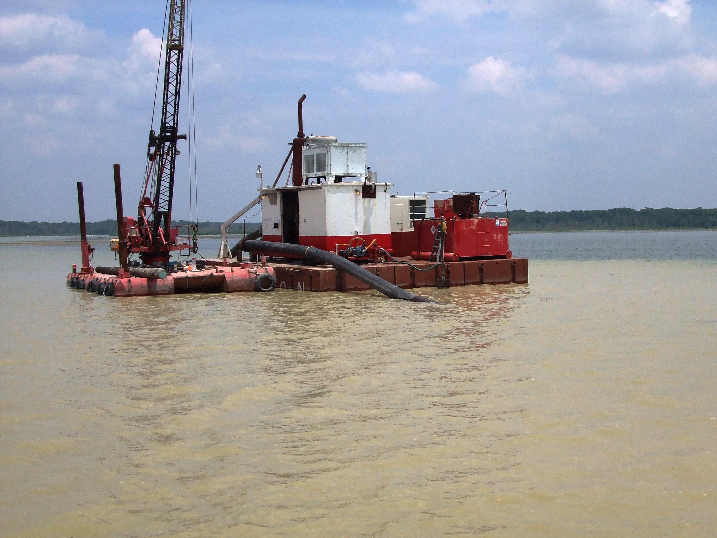 Dredging Barge Equipment, Dredging Barges   Poseidon Barge