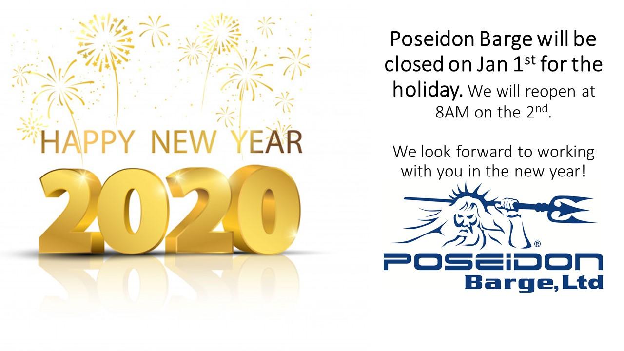 Poseidon New Years Notice